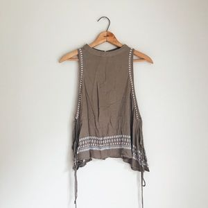 Boho Style Tank, with open sides